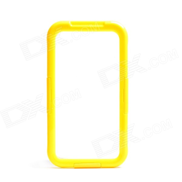 Protective Waterproof Case w/ Strap for Samsung Galaxy S5 - Yellow + Transparent