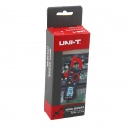"UNI-T UT210A 200A 1.8"" LCD Mini Clamp Multimeter - Deep Grey + Red (2 x AAA)"