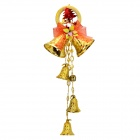 Stylish Christmas Bell / Jingling Bell Pendant Decoration - Golden (Large Size)