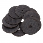 37mm Resina corte disco Set - Negro (10 PCS)