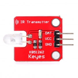 FR4 IR Infrared Transmitter Module - Red + Transparet (3.5~5V)