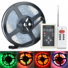 72W 3000LM 6000K 150 x 5050 SMD LED RGB Light Strip + 8-Key Remote Controller (DC 12V / 5m)