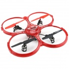 YDL-BX666 2.4GHz 4-CH 6-Axis Gyroscope Quadrocopter - Red + Black