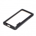 Protective TPU + PC Bumper Frame for Samsung Galaxy Alpha - Black
