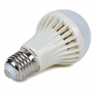 E27 4W 350lm Cold White Light 5730 SMD LED Bulb (AC 220 ~ 240V)