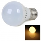 E27 2W 220lm 2700K chaud Ampoule LED White Light 5730 SMD - Argent Blanc + (AC 220 ~ 240V)