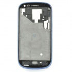 Plate Bezel Frame Housing Middle Chassis for Samsung Galaxy S3 Mini I8190 - Blue + Black
