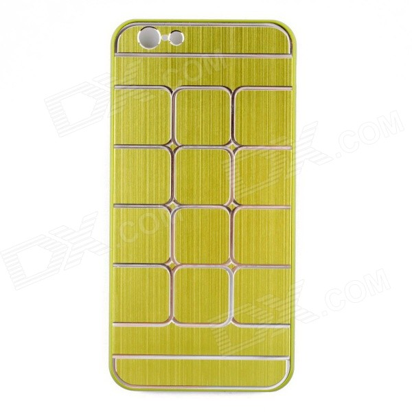 Protective Brushed Aluminum Alloy Back Case for IPHONE 6 - Green