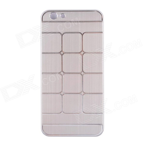 Protective Brushed Aluminum Alloy Back Case for IPHONE 6 - Silver