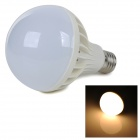 E27 9W 720lm 2700K Warm White Light 5730 SMD LED Bulb - White + Silver (AC 220~240V)