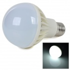 E27 6W 450lm Cold White Light 5730 SMD LED-lampe (AC 220 ~ 240V)