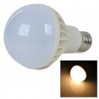 E27 6W 450lm 2700K Warm White Light 5730 SMD LED Bulb - White + Silver (AC 220~240V)