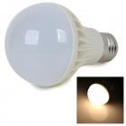 E27 5W 420lm 2700K Warm White Light 5730 SMD LED Bulb - White + Silver (AC 220~240V)