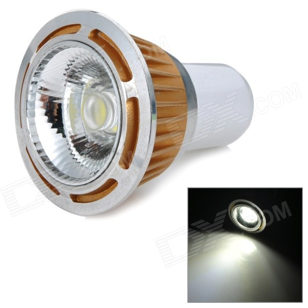 5W G5.3 400lm 6000K White Light COB LED Ceiling Lamp / Spotlight (AC 85~265V) kinfire kf1 5w 400lm 6000k 1 cob led white light ceiling lamp white silver ac 85 265v