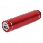 DIY 1 x 18650 Li-ion Battery USB Charger Power Bank Box Case w/ LED Indicator - Red