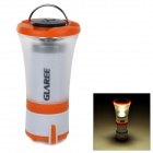 GLAREE C1 165lm LED Warm White Mini Outdoor Camping Lantern Lamp / Flashlight - Orange (4 x AAA)