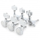 Square Head Sealed String Winders for 40/41 Acoustic Guitar - Silver (6 PCS)