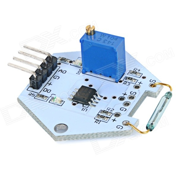 Arduino, Rasperry PI, Reed Switches, LEDs more
