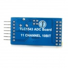 Waveshare TLC1543 11 -Channel 10-Bit ADC Board Conversão - Azul
