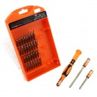 JAKEMY JM-8110 33-in-1 Telecommunications Repairing Screwdrivers Tools Set - Orange + Black + Silver
