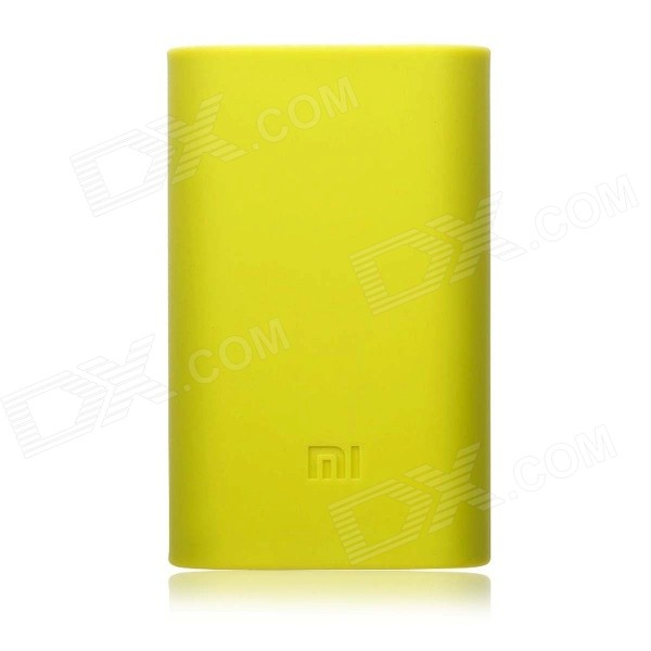 все цены на Protective Case for Xiaomi 5200mAh Power Bank - Yellowish Green онлайн