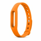 Replacement Silicone Wrist Band for Xiaomi Smart Bracelet - Orange