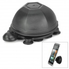 Unique Turtle Style 2-in-1 Universal Stand / Cable Management for Cell Phone / Tablet - Black