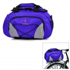 Yanho YA077 Large-Capacity Bike Bicycle Rear Rack Seat Pannier Bag / Handbag / Shoulder Bag - Blue