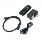 Megafeis A66 Google Android 4.2.2 Quad Core USB Bluetooth Mini PC slimme TV Dongle w / Wi-Fi - zwart