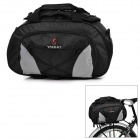 Yanho YA077 Large-Capacity Bike Bicycle Rear Rack Seat Pannier Bag / Handbag / Shoulder Bag - Black