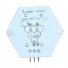 5V 650nm Laser Emit Module for Arduino - White + Golden