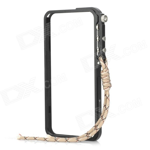 Protective Aluminum Alloy Bumper Frame Case for IPHONE 6 PLUS - Black protective aluminum alloy bumper frame for iphone 6 black golden
