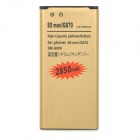 Replacement 2500mAh Li-ion Battery for Samsung Galaxy S5 Mini / G870 / SM-G800 - Gold