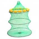 Fish Guard with many floats - Green + Yellow