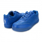 Men's Summer Fashion Lace-up Casual Shoes - Blue (Pair / Size 8)