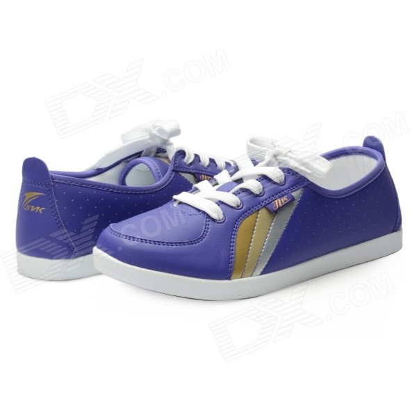 Women's Lace-up Sports / Casual Shoes - Purple (Size 7.5 / Pair)