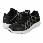 11321033 Fashion Men's Lace-up Running Shoes - Black (Pair / Size 8)