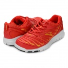 11221022 Women's Fashionable Lace-up Running Shoes - Red (Pair / Size 7)