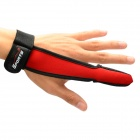 Multi-function One Finger Breathable Anti-skid Fishing Glove - Red + Black