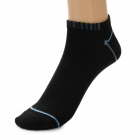 Men's Summer Fashion Bamboo Charcoal Antibacterial Sport Socks - Black (Free Size / Pair)