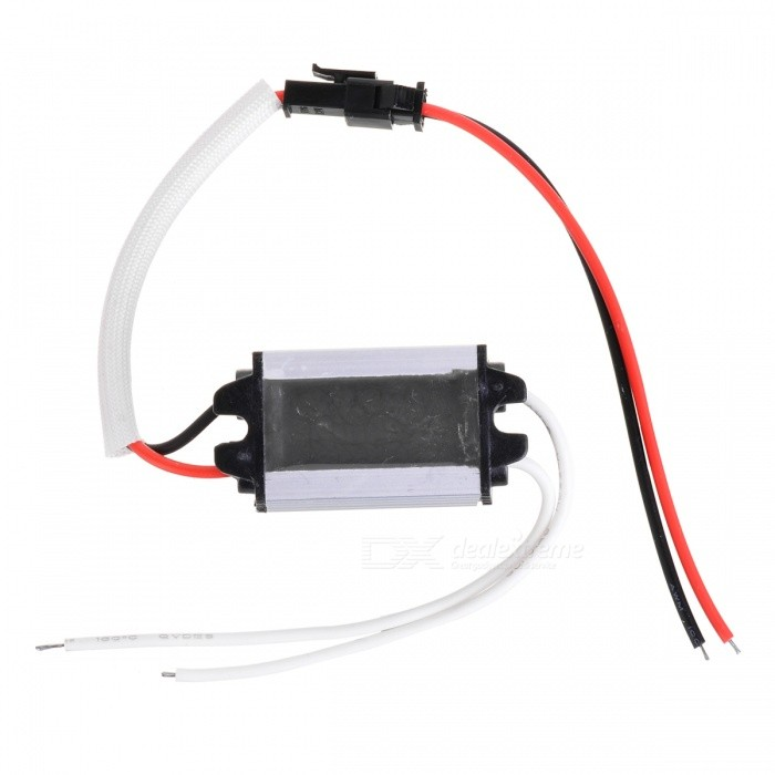 LD-5660-3H Waterproof PWM LED Power Driver - White + Black + Multi-Color (90~260V)