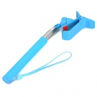 Universal Handheld Clip-on Selfie Monopod for Cell Phone - Blue