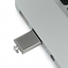 Ourspop Mini-1 Ultra-delgada USB 2.0 Flash Drive - Plata (32 GB)