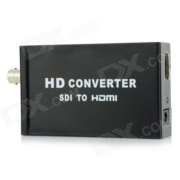 SDI / HDMI к HDMI HD 1080P Video Converter - черный