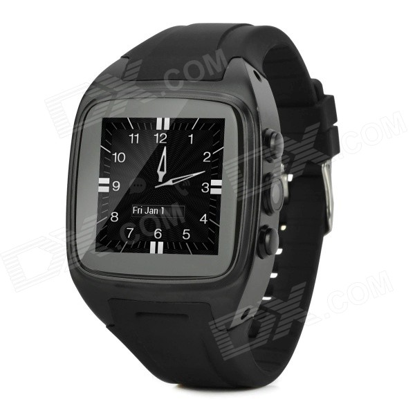 "KICCY W004 Dual-Core Android 4.2.2 Smart Waterproof Watch Phone w/ 1.54"" Screen, Wi-Fi, 4GB ROM"