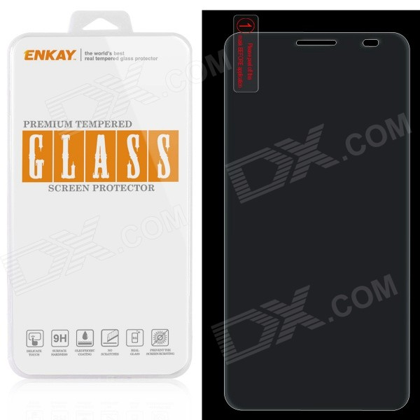 ENKAY 0.26mm 9H Explosion-Proof Tempered Glass Screen Protector for Huawei Honor 6 - TransparentScreen Protectors<br>Form  ColorTransparentScreen TypeGlossyModelN/AMaterialTempered glassQuantity1 DX.PCM.Model.AttributeModel.UnitCompatible ModelsHuawei Honor 6Packing List1 x Screen protector1 x Dust-absorber1 x Cleaning cloth1 x Alcohol prep pad<br>