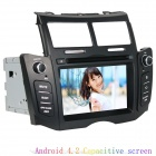 LsqSTAR 6.2 Capacitive Android 4.2.2 Car DVD Player w/ GPS, RDS, WiFi, FM, IPOD for Toyota Yaris