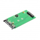 "CY SA-158 Mini PCIE 2 Lane M.2 NGFF SSD to 1.8"" Micro SATA 7+9 16pin Adapter Card"