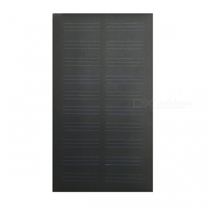 Itian Waterproof 1W 5V Solar Charger Panel - Black (107 x 61mm)
