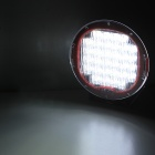 MZ Round 96W 7680lm 32-LED Driving Spot Work Light 4WD Offroad Lamp - Red